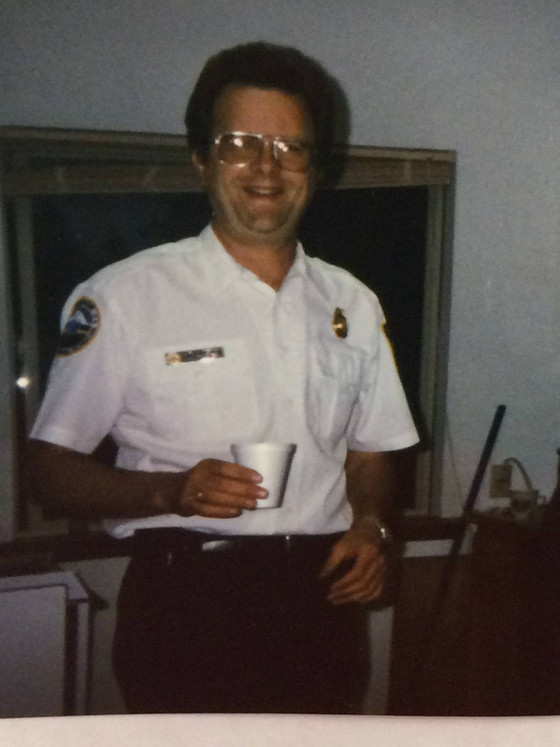 Fire Chief Gary Anderson Celebrating 33 Years of Service