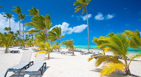 luxury beach in the Dominican Republic .