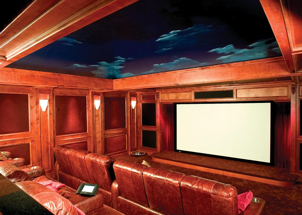 evolution home theatre custom theater room