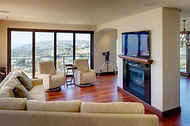 flat panel TV home automation evolution home theatre san diego