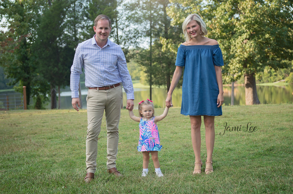 Family Session at a Park