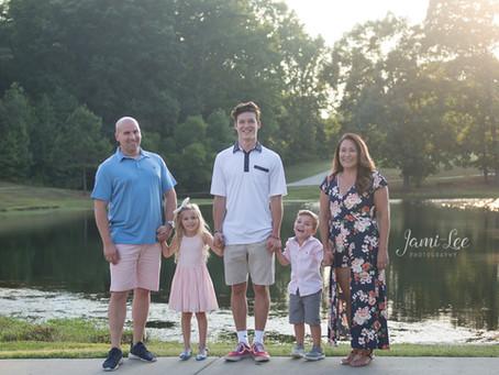 Backyard Family Session
