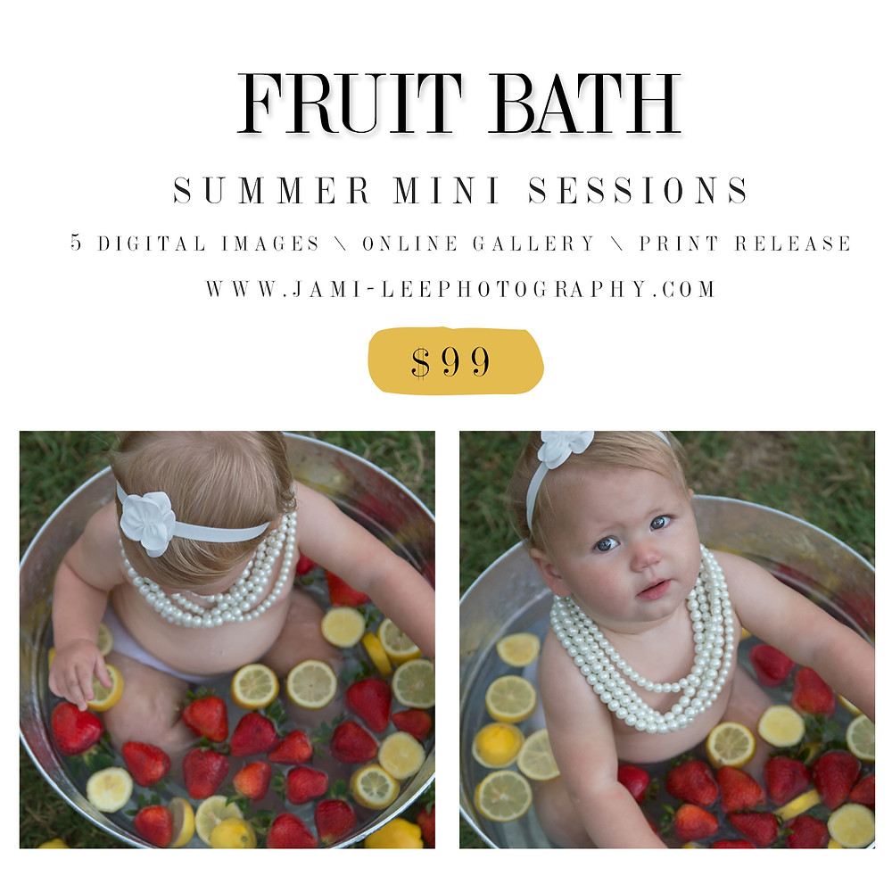Fruit bath | Matthews, NC