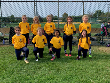Robbinsville Rampage 8U Plays in Their First Ever Tournament