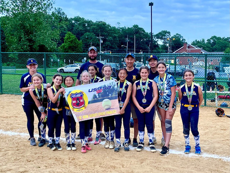 The Robbinsville Rampage 10U team finishes #2 in the State!