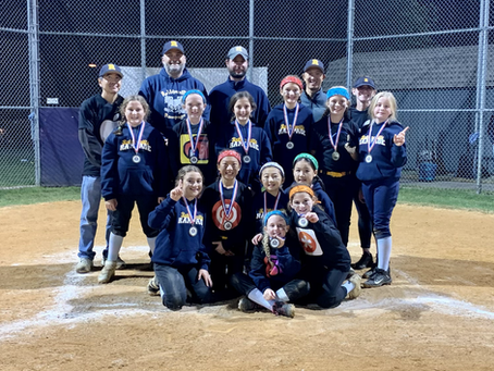 Robbinsville Rampage 10U wins Monroe Monster Brawl Tournament