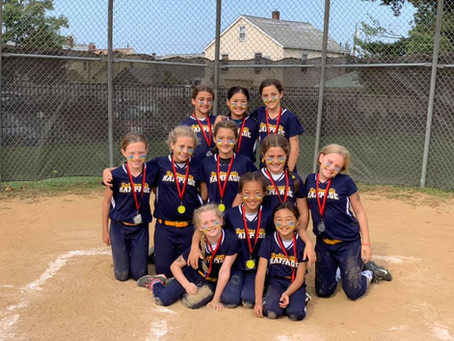 Robbinsville Rampage 10U Places 2nd in Woodbridge Fall Harvest Tournament