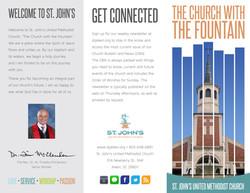 St. John's Tri-fold Brochure Outside