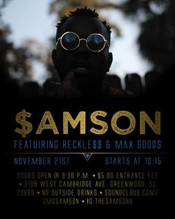 $amson Show Flyer
