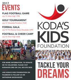 Koda's Kids Brochure Outside