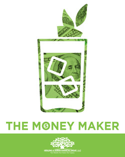 The Money Maker Drink Sign