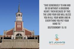 St. John's Giving Card