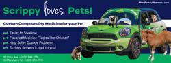 Scrippy Loves Pets Ad