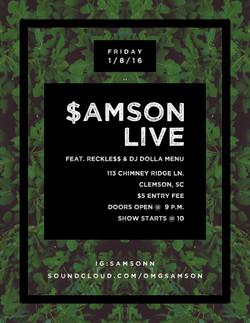 $amson Show Flyer 2