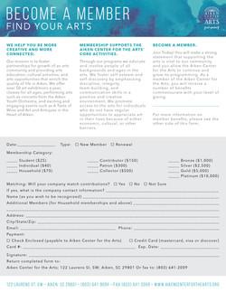 ACA Membership Form