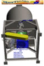 Misturador Mexedor batedor dispersor tintas grafiato textura