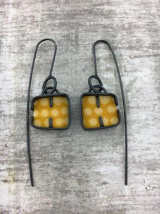 Cobble Drop Earrings