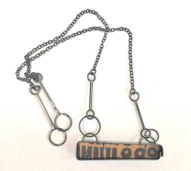 Half Line Necklace