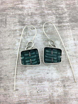 Cobble Drop Earrings