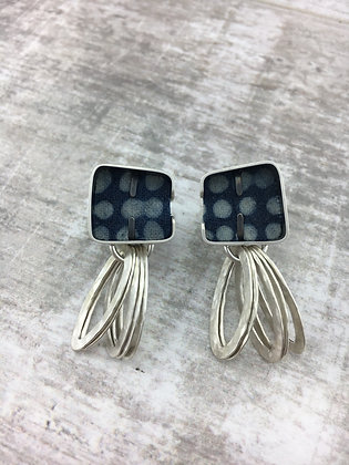 Cobble Loop Earrings