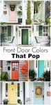 10 Ways To Add Curb Appeal With… Color!
