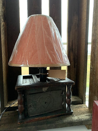 Antique Foot Warmer Lamp