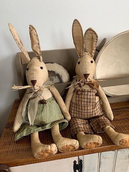 Primitive Boy/Girl Rabbits