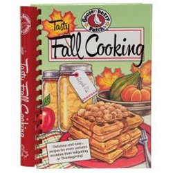 Tasty Fall Cooking is a spiral-bound cookbook