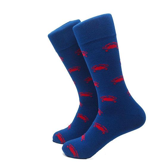 Crab Socks - Men's Mid Calf
