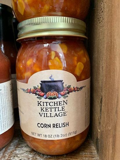 Kitchen Kettle Corn Relish