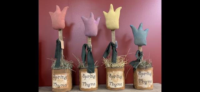 Handmade Tall Tulips