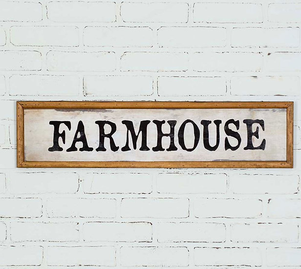 Farmhouse Wood Wall Sign