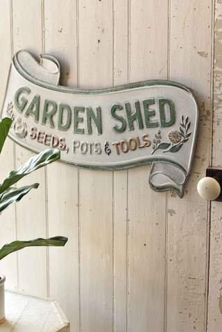 Garden Shed Sign