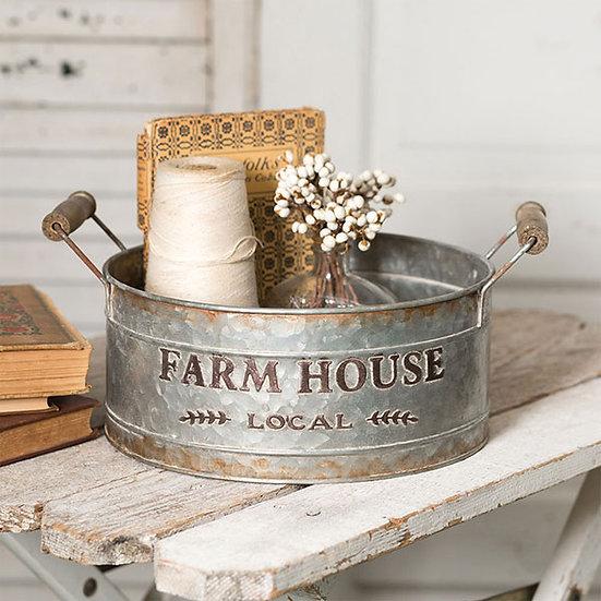 Farm House Local Round Bin