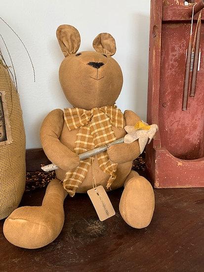 Handmade Grungy Bear