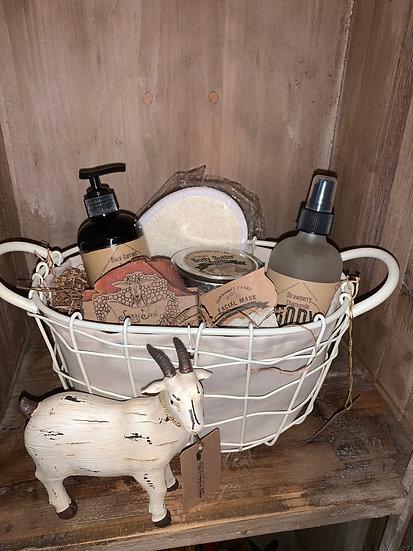 Goats Milk Gift Basket