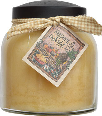 Almond Butter Pound Cake Candle Papa Jar