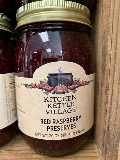 Kitchen Kettle Red Raspberry Preserves