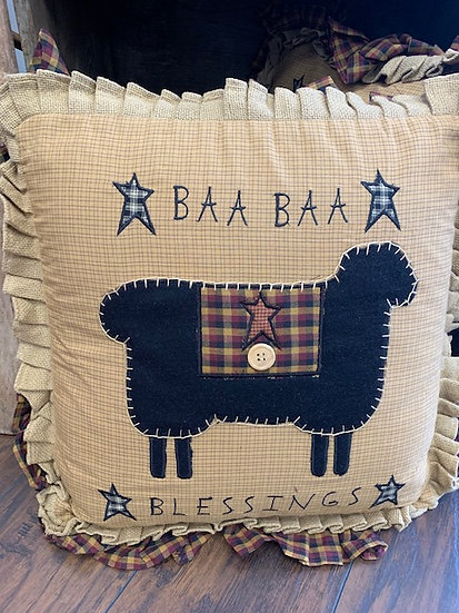 BAA BAA Sheep Pillow