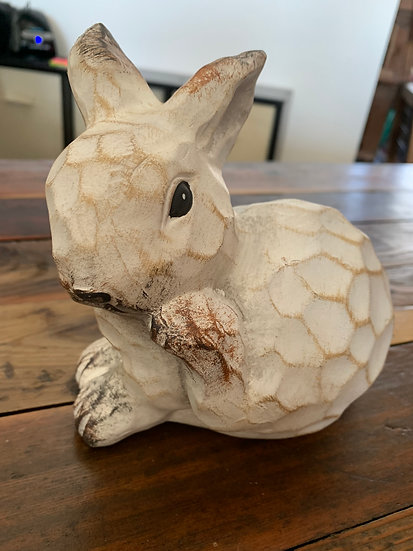 Ceramic Bunny Shelf Sitter
