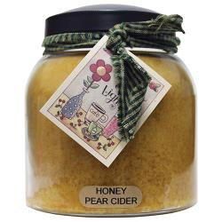 Honey Pear Cider Candle Papa Jar