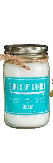 Sea Salt Mason Jar Candle