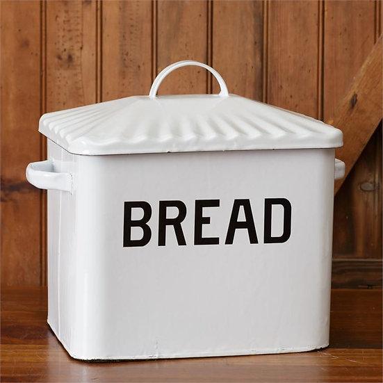 Enamelware Farmhouse Bread Box