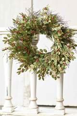 Holly Harmony Wreath