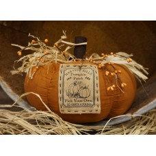 "Harvest Hills Pumpkin 7.5""x10"""