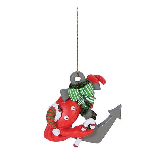 Crab Anchor Ornament