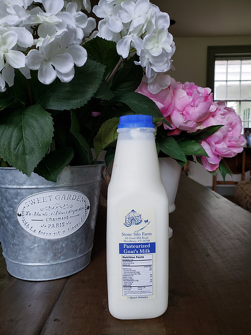 Pasturized Goat Milk