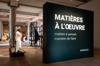 """Exposition """"Matières à l'oeuvre"""" Galerie des Gobelins à Paris"""