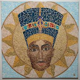 Modern Mosaic Aten Nefertiti.jpg