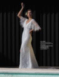 Designer bridal gown Adele